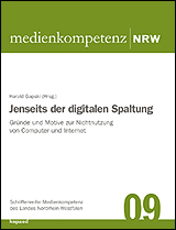 Harald Gapski (Hrsg.): Jenseits der digitalen Spaltung