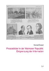 Pressebilder in der Weimarer Republik