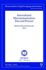 Barbara Kryk-Kastovsky (Hrsg): Intercultural Miscommunication Past and Present
