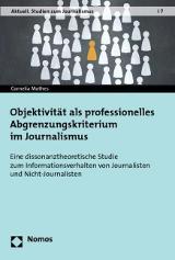 Objektivität als professionelles Abgtenzungskriterium